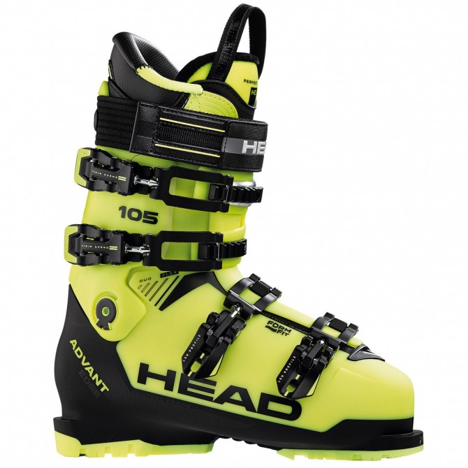 Ski boots Head Advant Edge 105 yellow