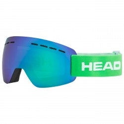 Maschera sci Head Solar verde