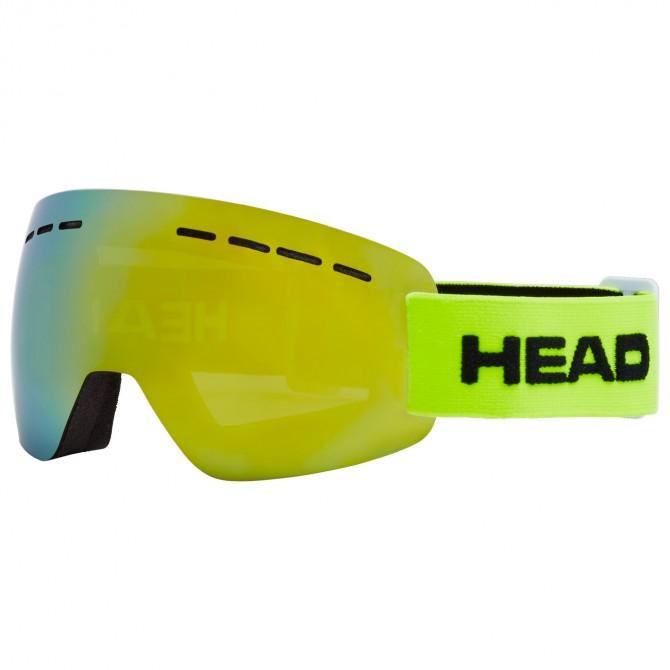 Maschera sci Head Solar lime