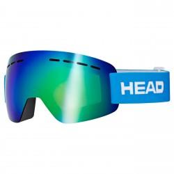 Maschera sci Head Solar FMR blu