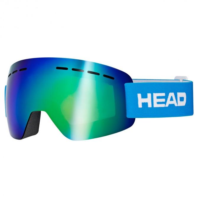 Máscara esquí Head Solar FMR azul