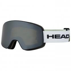 Máscara esquí Head Horizon Race + lentes blanco-lime