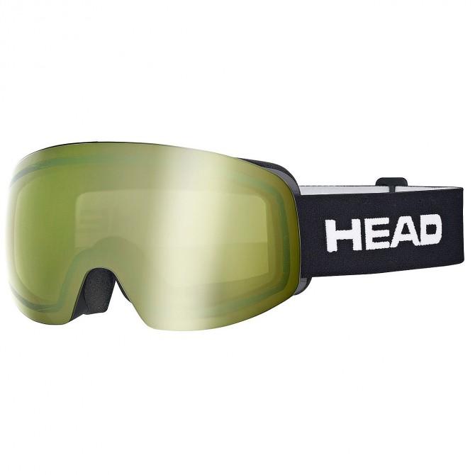 Maschera sci Head Galactic Tvt verde