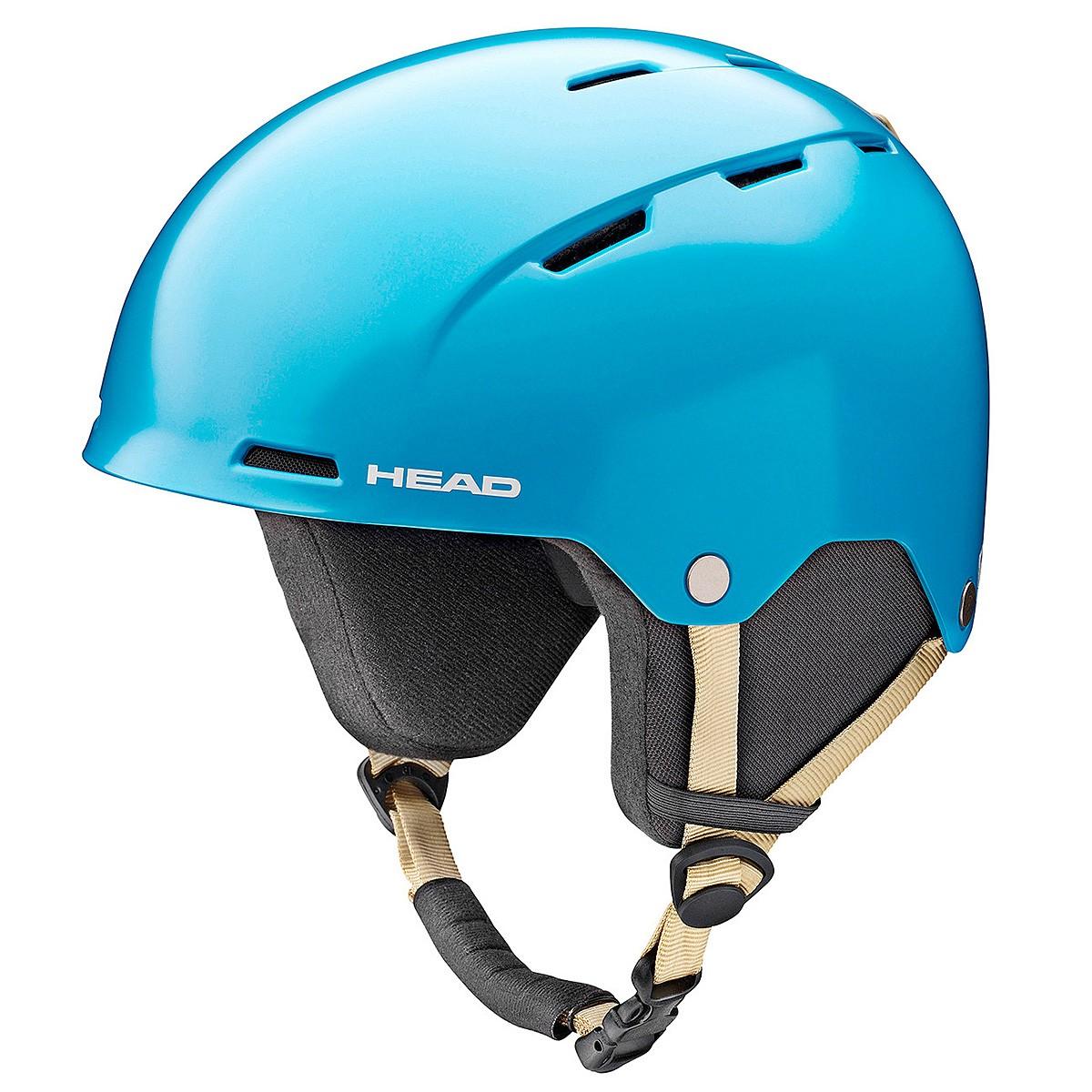 Casco sci Head Ten blu (Colore: blu, Taglia: 52/55)