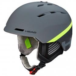 Casque ski Head Varius gris-lime