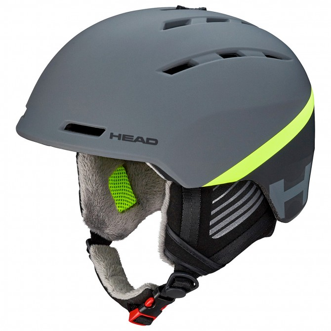Casco esquí Head Varius gris-lime