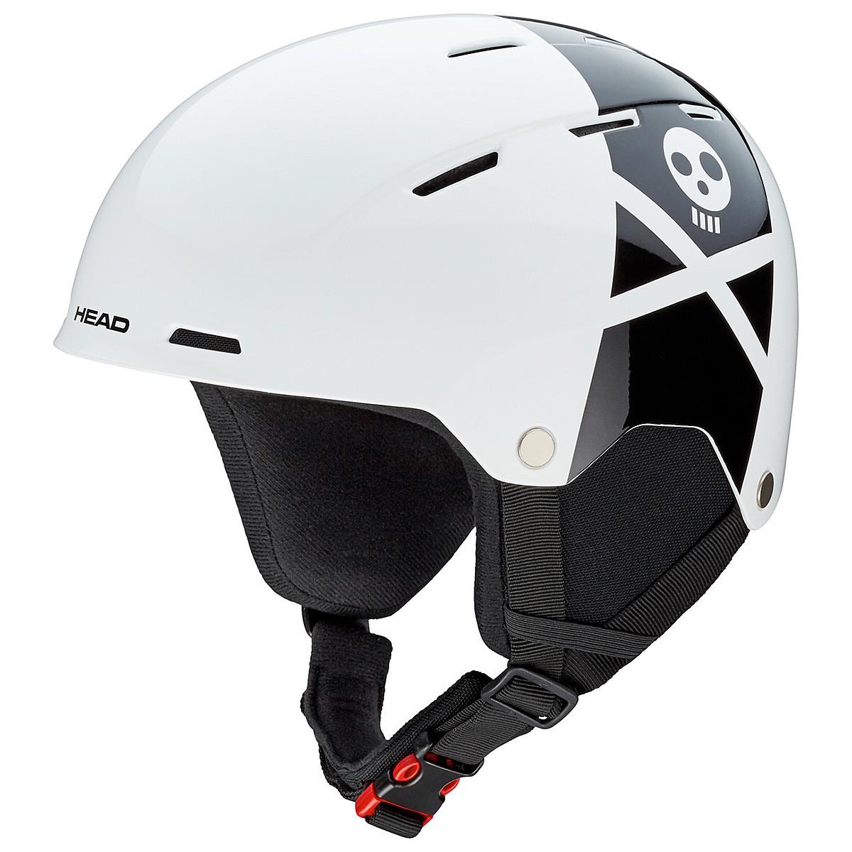 Casco snowboard Head Taylor (Colore: bianco-nero, Taglia: 52/55)