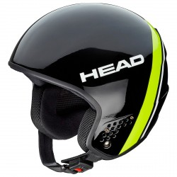 Ski helmet Head Stivot Race black-lime