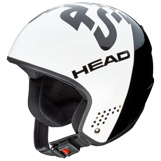 Casco esquí Head Stivot Race blanco-negro