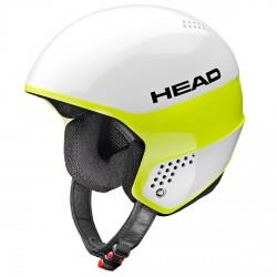 Ski helmet Head Stivot white-lime