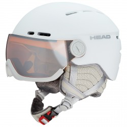 Casque ski Head Queen blanc
