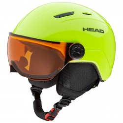 Casco sci Head Mojo Visor lime