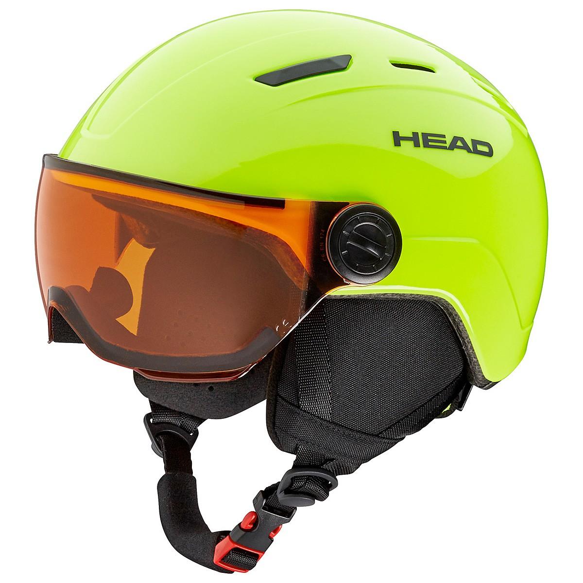 Casco sci Head Mojo Visor (Colore: lime, Taglia: 47/51)