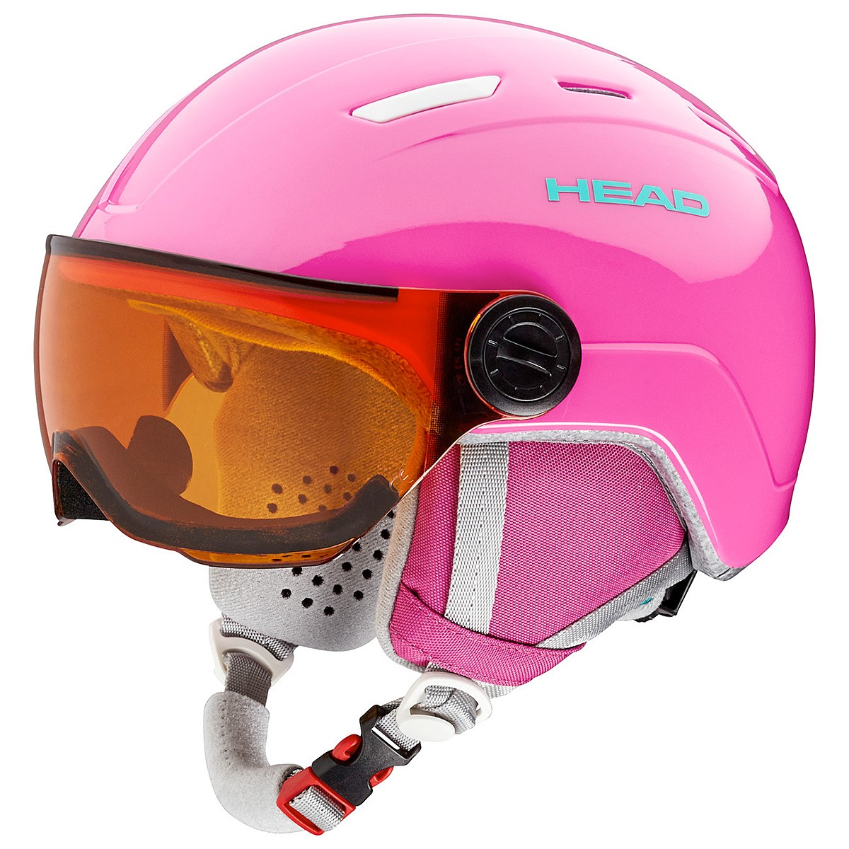 Casco sci Head Maja Visor (Colore: rosa, Taglia: 47/51)