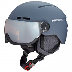 Casco esquí Head Knight Pro antracita