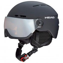 Ski helmet Head Knight black