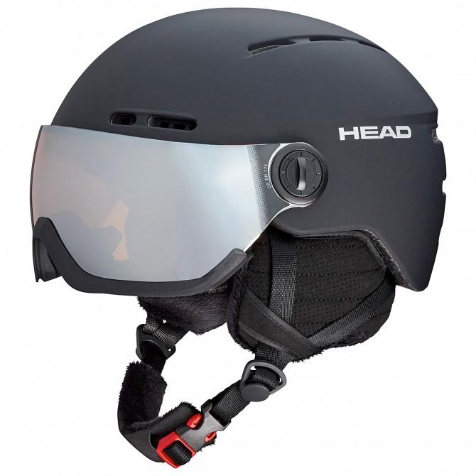 Casco esquí Head Knight negro