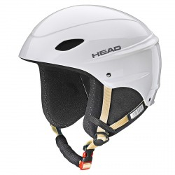 Casco esquí Head Rental blanco