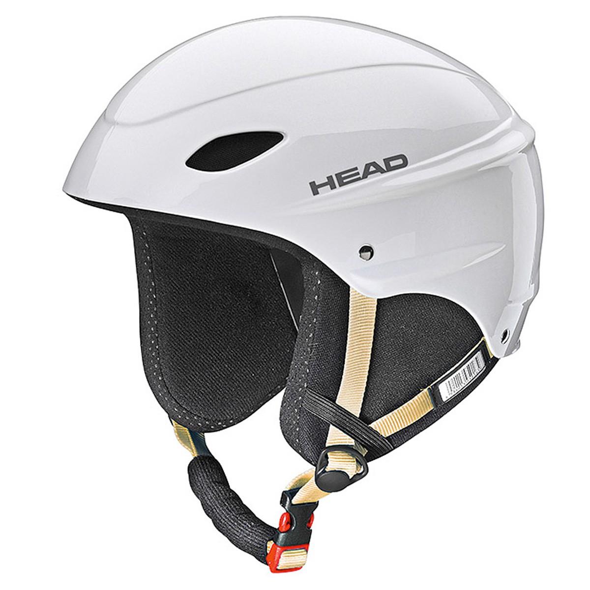 Casco sci Head Rental bianco (Colore: bianco, Taglia: 52/55)