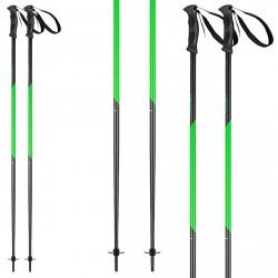 Ski poles Head Multi S anthracite-green