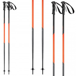 Ski poles Head Multi S anthracite-red