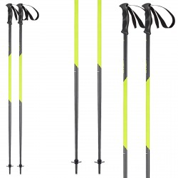 Ski poles Head Multi S anthracite-yellow