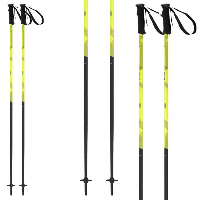 Ski poles Head Joy black-yellow