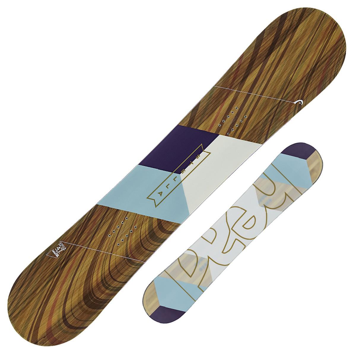 Snowboard Head Stella (Colore: marrone fantasia, Taglia: 147)