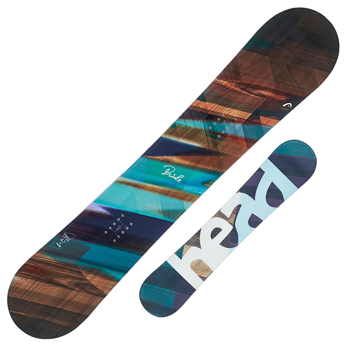 Snowboard Head Pride (Colore: fantasia, Taglia: 147)
