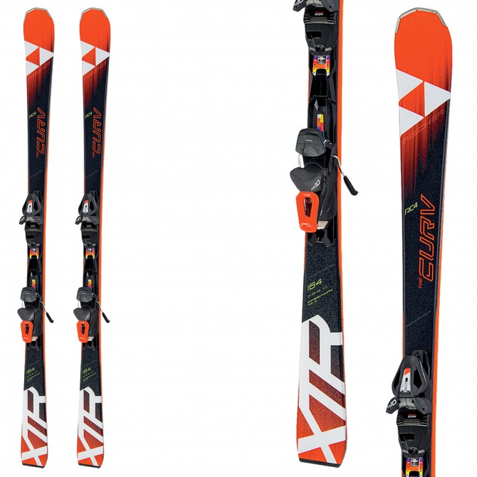 Ski Fischer Xtr The Curv RT + bindings Rs 10 Pr