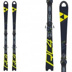 Ski Fischer RC4 WorldCup SL Women Curv Booster + bindings Z17