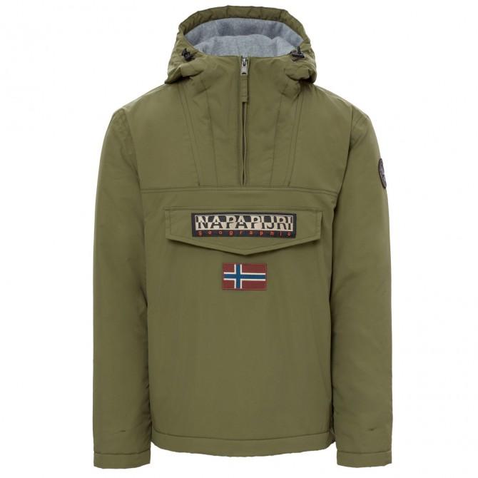 Cagoule Napapijri Rainforest Winter Homme vert militaire