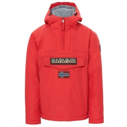 Cagoule Napapijri Rainforest Winter Homme rouge