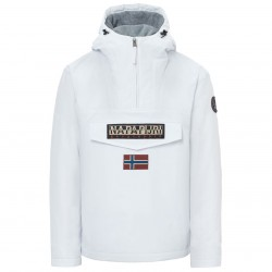 Cagoule Napapijri Rainforest Winter Homme blanc