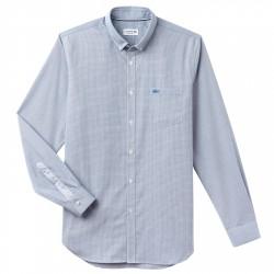Camisa Lacoste Hombre azul claro