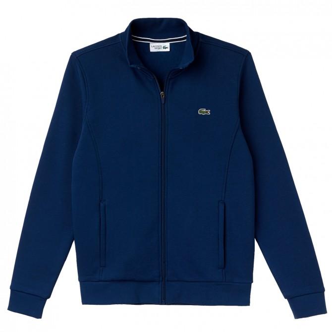 Sweat-shirt Lacoste avec zip Homme navy