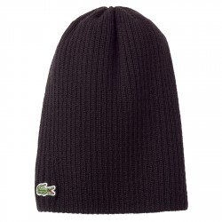Ribbed beanie Lacoste Man
