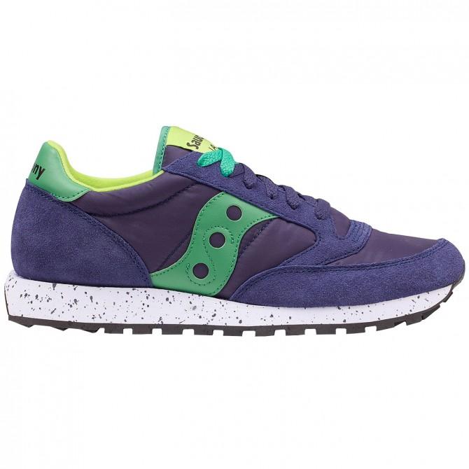 Sneakers Saucony Jazz Original Man blue-lime