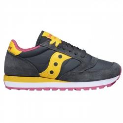 Sneakers Saucony Jazz Original Woman grey-yellow