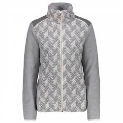 Fleece Cmp Woman grey-white
