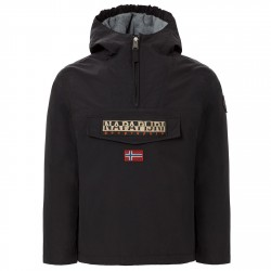 Cagoule Napapijri Rainforest Winter Niño negro (10-14 años)