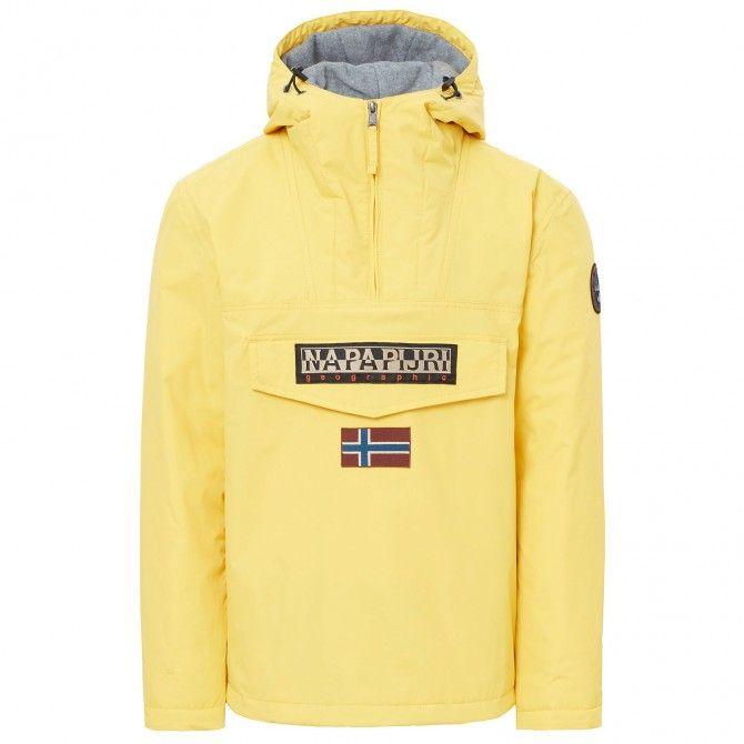 Cagoule Napapijri Rainforest Winter Homme jaune