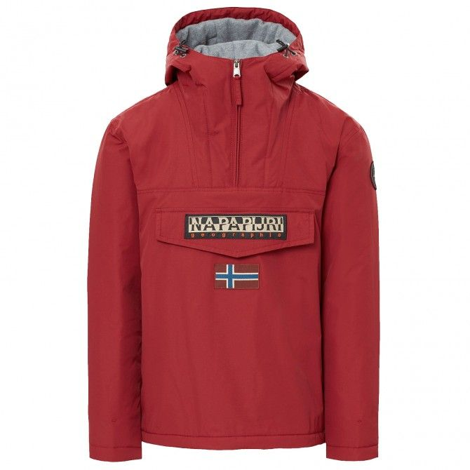 Cagoule Napapijri Rainforest Winter Hombre burdeos