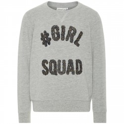 Sudadera Name It Girl Squad Niña