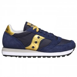 Sneakers Saucony Jazz Original Femme bleu-or