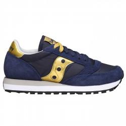 Sneakers Saucony Jazz Original Mujer azul-oro
