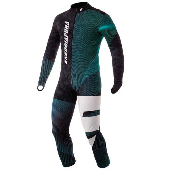 Race suit Energiapura Pixel Junior turquoise