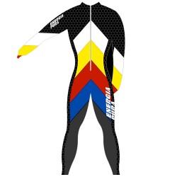 Tuta gara Energiapura Arrow Unisex multicolor