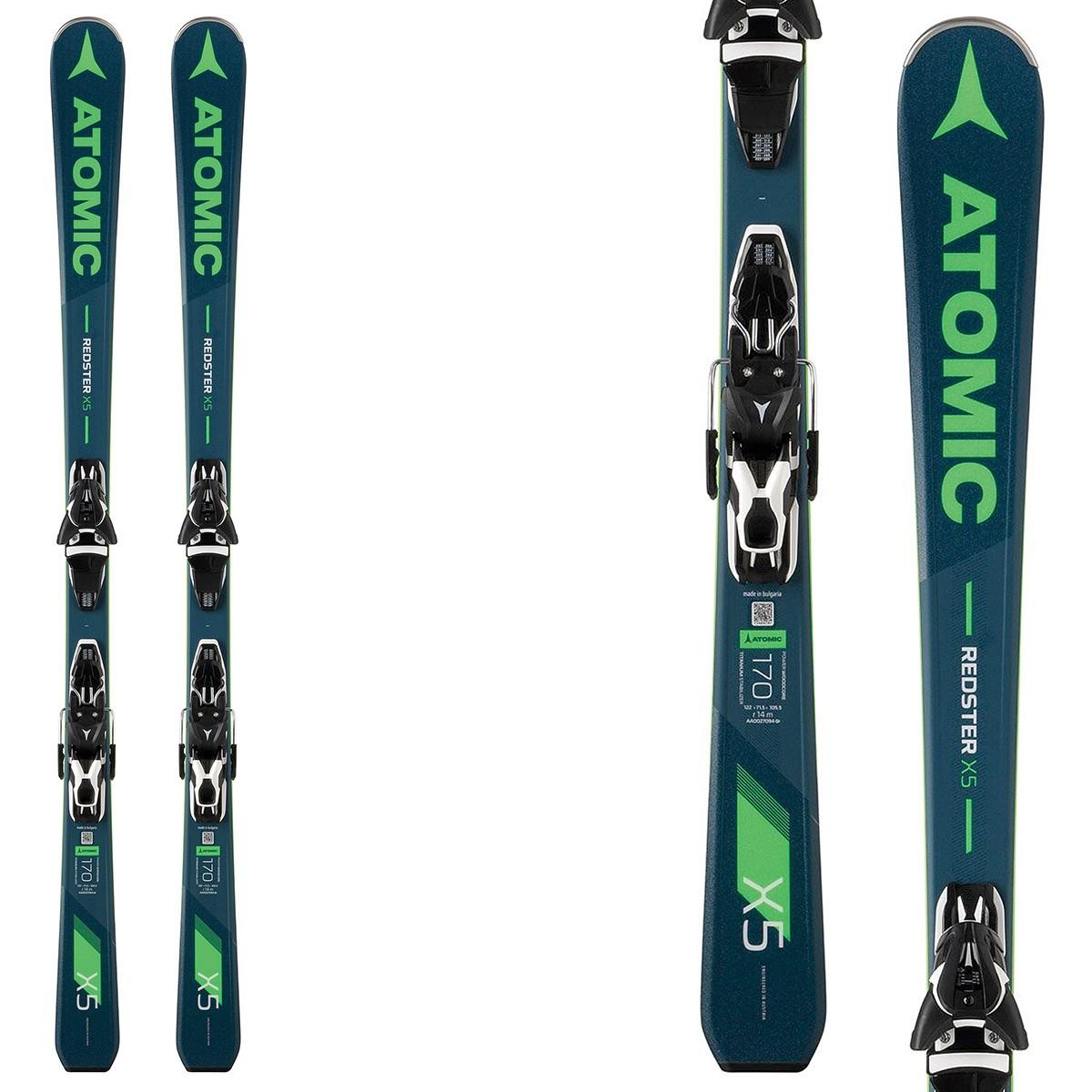 Rewelacyjny Ski Atomic Redster X5 + bindings Ft 11 - Race skis JY27