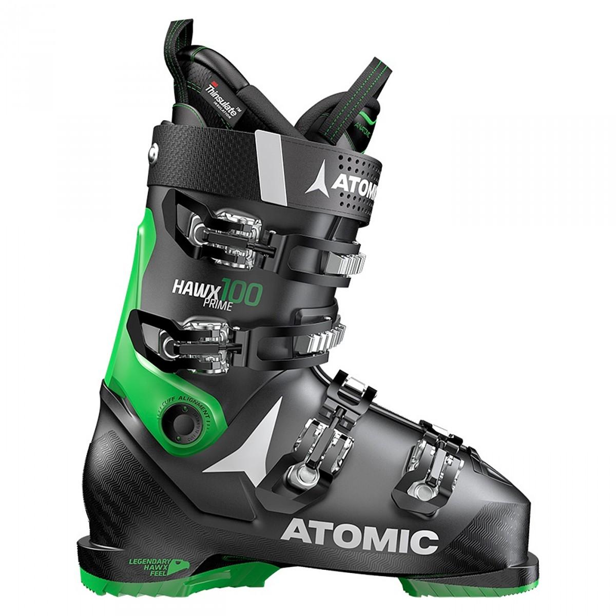 Scarponi sci Atomic Hawx Prime (Colore: nero-verde, Taglia: 29/29.5)